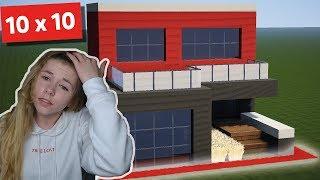10 x 10 Haus in Minecraft!