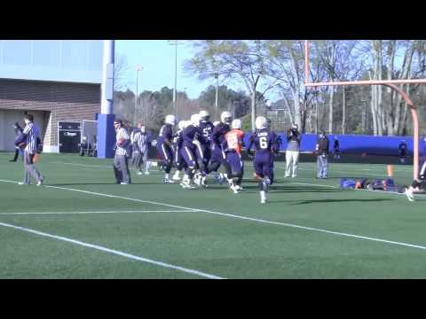 Auburn practice: Hurry-up drill 3-27-13