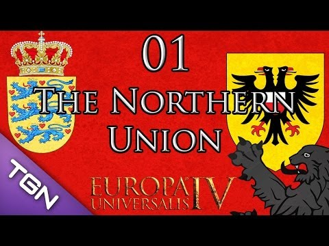 Let's Play Europa Universalis IV Wealth of Nations The Northern Union w/ Zach Part 1