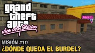 GTA Vice City Stories - Misión #10 - ¿Dónde queda el burdel? (Español/Sin Comentario - PCSX2)