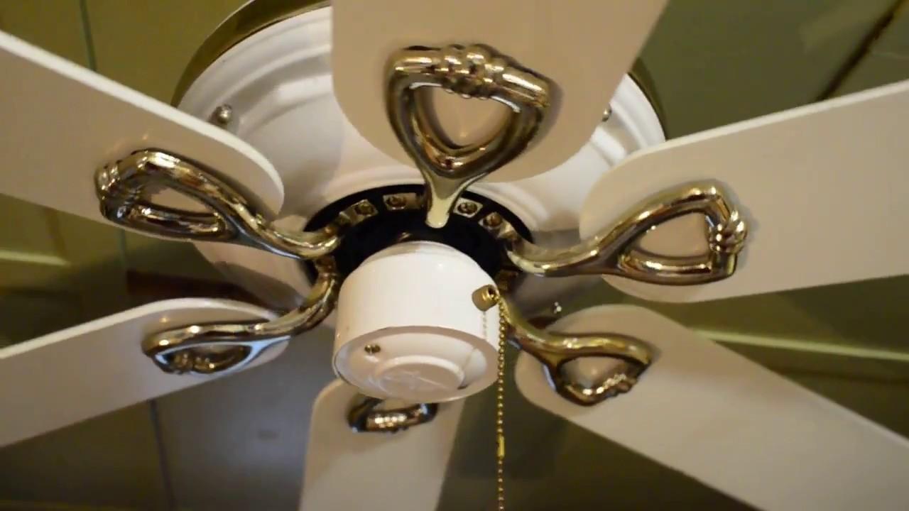 Hunter colonial ii 52 ceiling fan c 1997 youtube hunter colonial ii 52 ceiling fan c 1997 aloadofball Choice Image