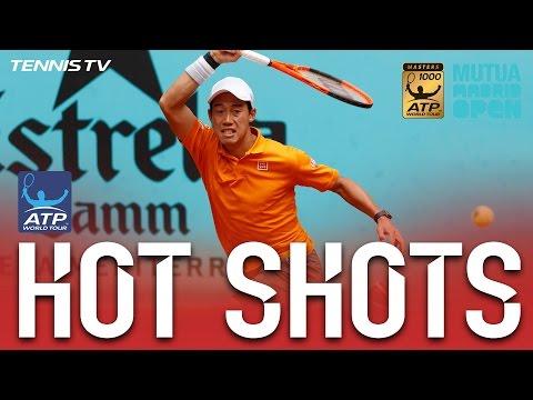 Hot Shot: Nishikori Stays One Step Ahead In Madrid 2017