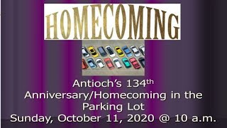 October 11, 2020 - Homecoming Anniversary Live