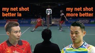 Net SHOT vs PERFECT Badminton Net Shot - Top 20