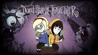Dont Starve Together z Oską #1 - Troszkę mi się podpaliło ;)
