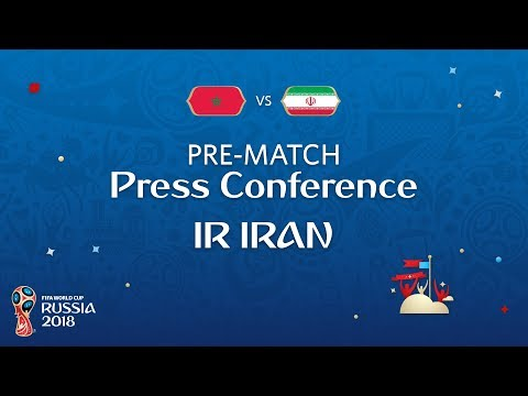 FIFA World Cup™ 2018: Morocco - IR Iran: IR Iran Pre-Match Press Conference