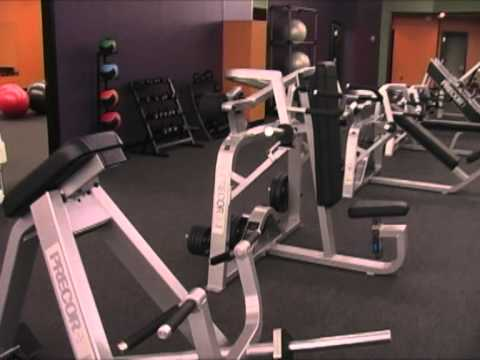 Anytime Fitness tour