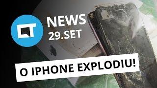 iPhone 7 explodindo, Spotify comprando Soundcloud, passeio pelo data center do Facebook e + [CTNews]
