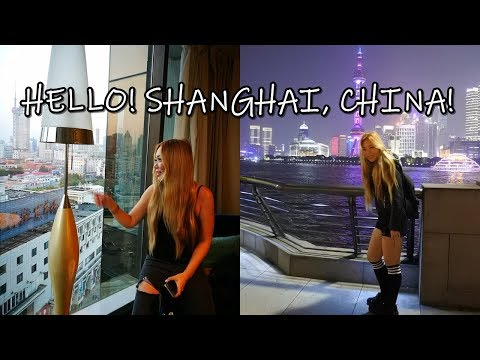 MY FIRST TIME IN SHANGHAI, CHINA! TRAVEL VLOG!