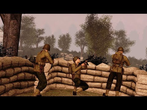 Gmod: World war II (VJ Base advanced ai battle)