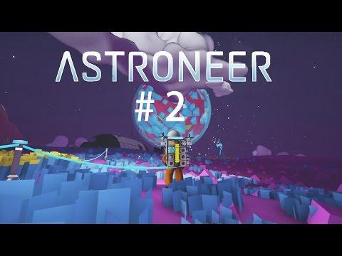 Astroneer -Let´s play- #2 Die Forschungsstation wächst