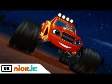 Blaze and the Monster Machines | Light Riders | Nick Jr. UK