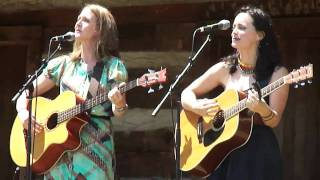 "Red Molly - ""Do I Ever Cross Your Mind"" - Merlefest 2011 Cabin Stage"