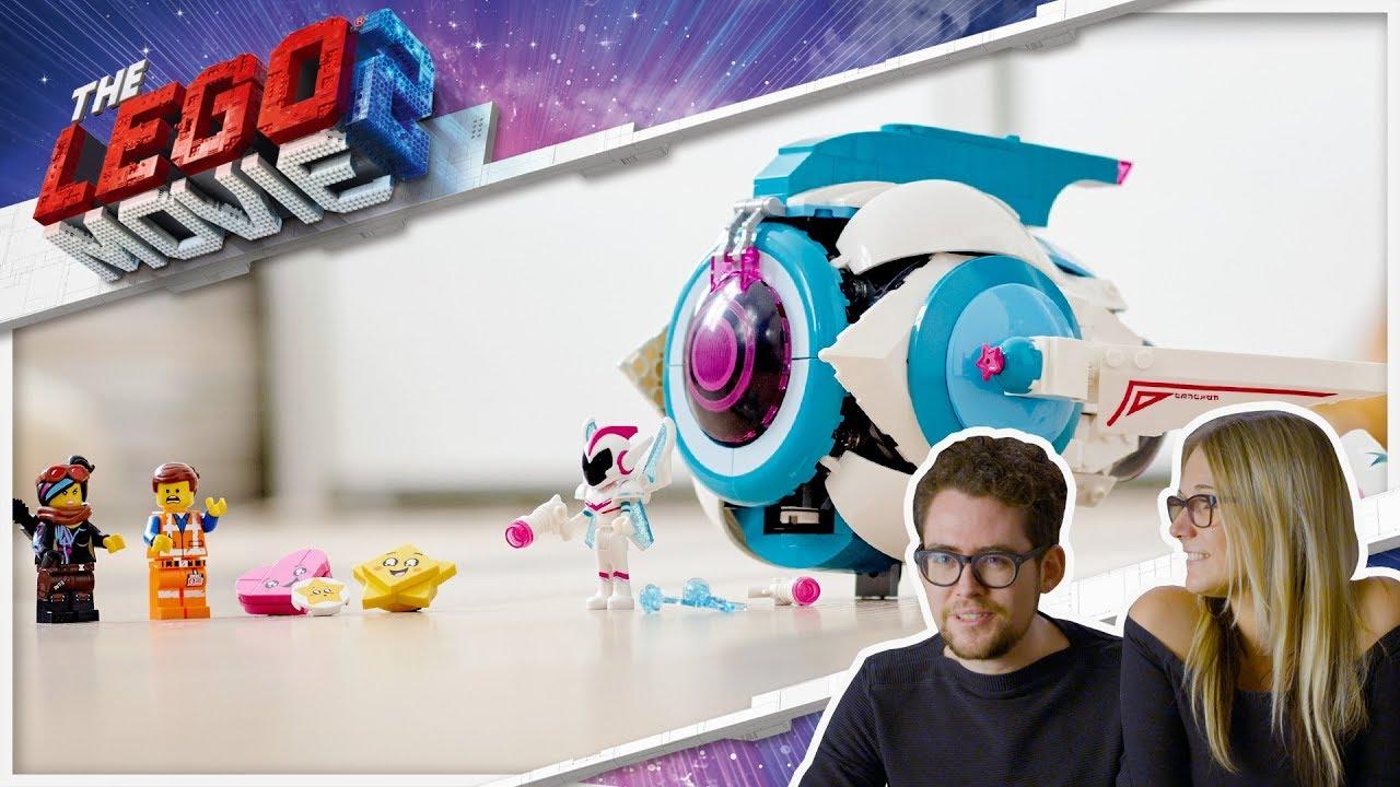 Sweet Mayhem S Systar Starship The Lego Movie 2 70830 Designer Video Kids Youtube