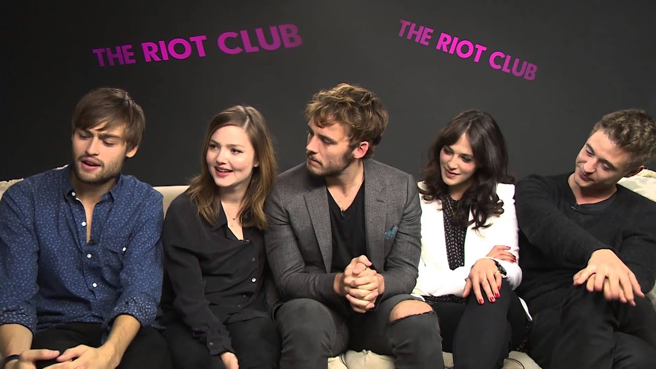 Holliday grainger the riot club - 1 part 3