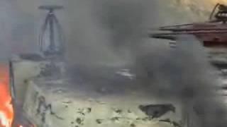 Пожар на электровозе ВЛ-85 № 070
