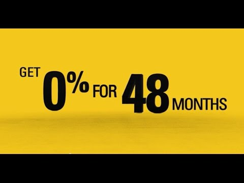 0% For 48 Months On New Cat® Machines!