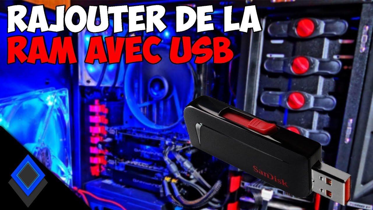 Download Rajouter de la Ram avec une clé USB !