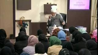 Gulshan-e-Waqfe Nau Lajna, 30 Oct 2010, Educational class with Hadhrat Mirza Masroor Ahmad(aba)