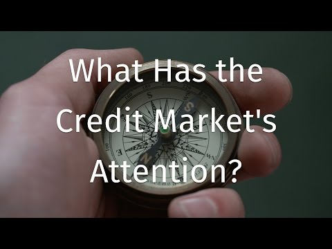 What Has the Credit Market's Attention? - Joseph Trevisani
