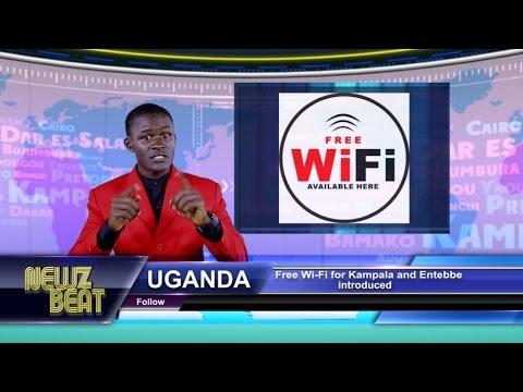 UGANDA: Free Wi-Fi for Kampala and Entebbe introduced (S4 episode 3 NewzBeat Uganda)