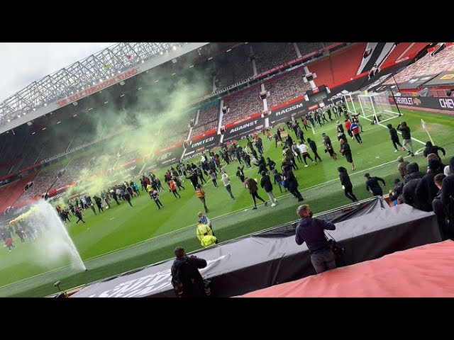 Manchester United fans protest Old Trafford | Glazers Out   #InfiniteWanderlust
