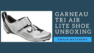 Garneau Tri Air Lite Shoe Unboxing
