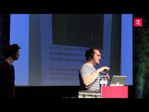 re:publica 2014 - Vom Gemeinschaftsblog zum Gemeinschaf... on YouTube