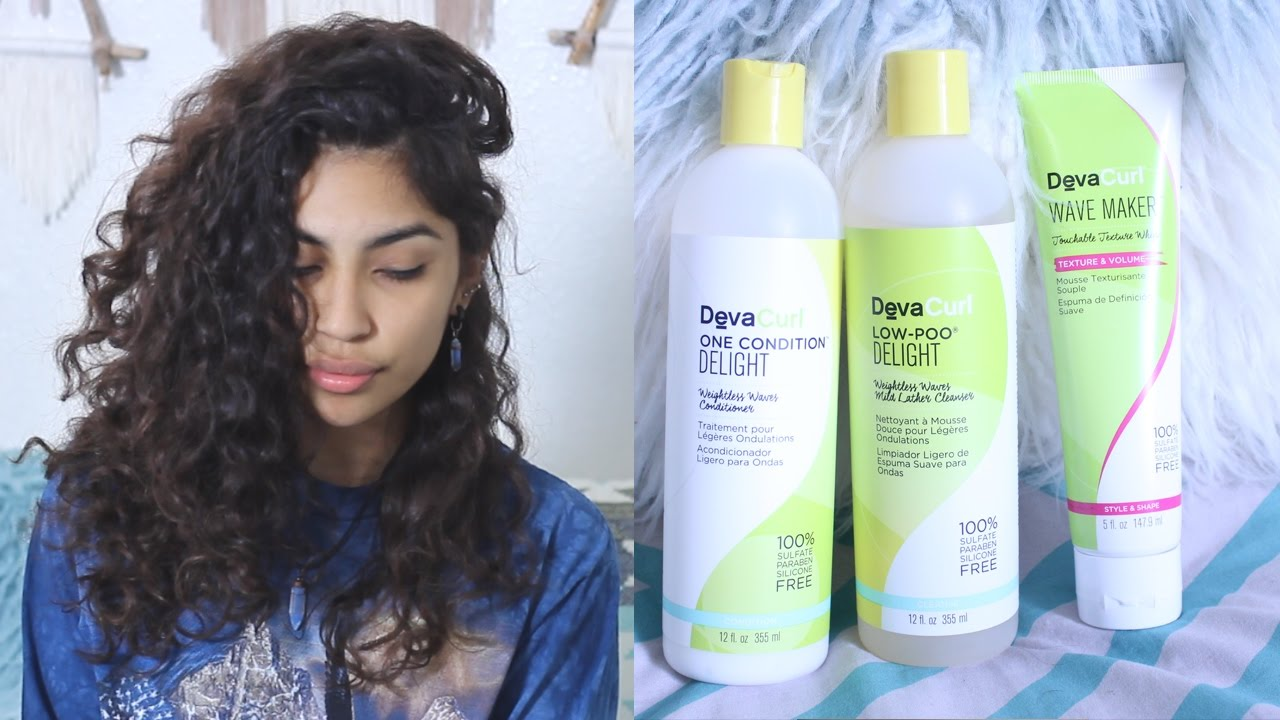 DevaCurl Delight Line Review YouTube