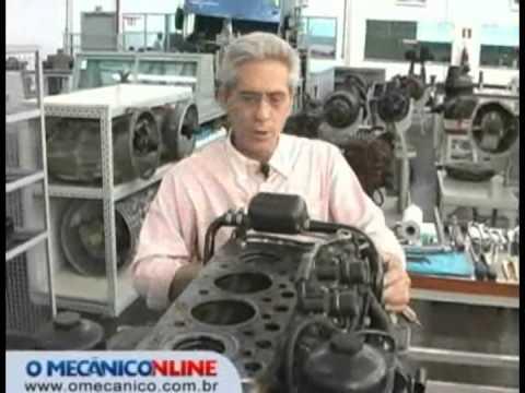 Troca da junta de cabeçote do motor OM 904 - MB