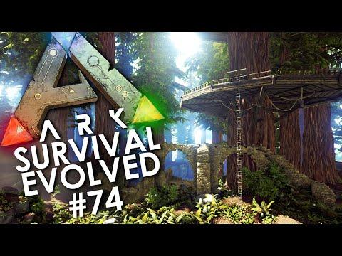 ARK: Survival Evolved - Episode 74 | REDWOOD FOREST TREE HOUSE