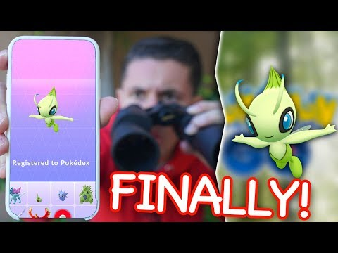 THE CELEBI QUEST IS FINALLY GOING GLOBAL in Pokémon GO! (How To Get Celebi)