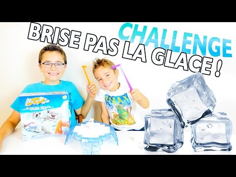 CHALLENGE BRISE PAS LA GLACE ! - Jeu de société - DON'T BREAK THE ICE!