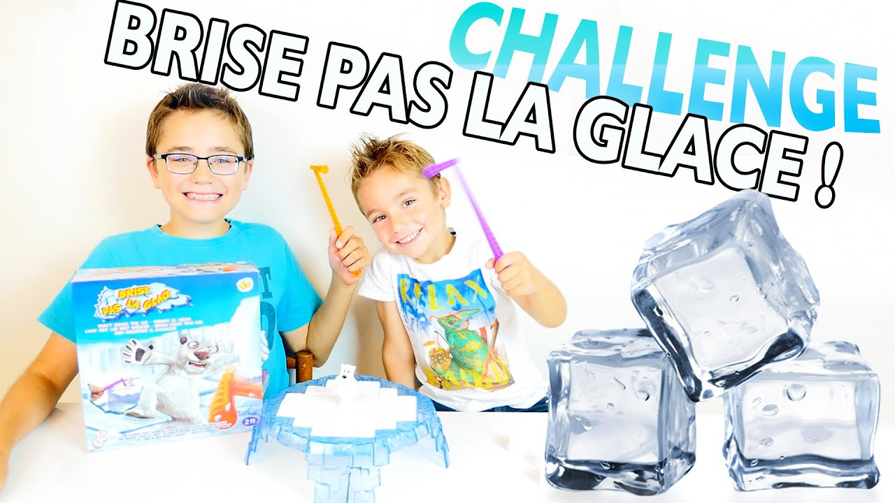 challenge brise pas la glace jeu de soci t don 39 t break the ice youtube. Black Bedroom Furniture Sets. Home Design Ideas