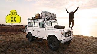 Camper Ausbau Roomtour | Defender Wohnmobil selber machen