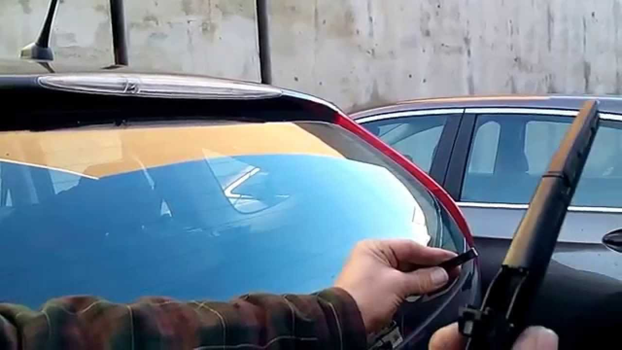 Exceptional HOW TO Replace HONDA CRV Rear Wiper
