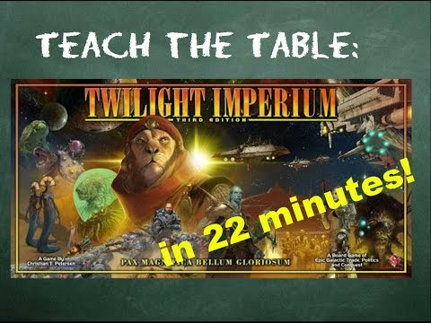 How To Play Twilight Imperium (Third Edition) In 22 Minutes