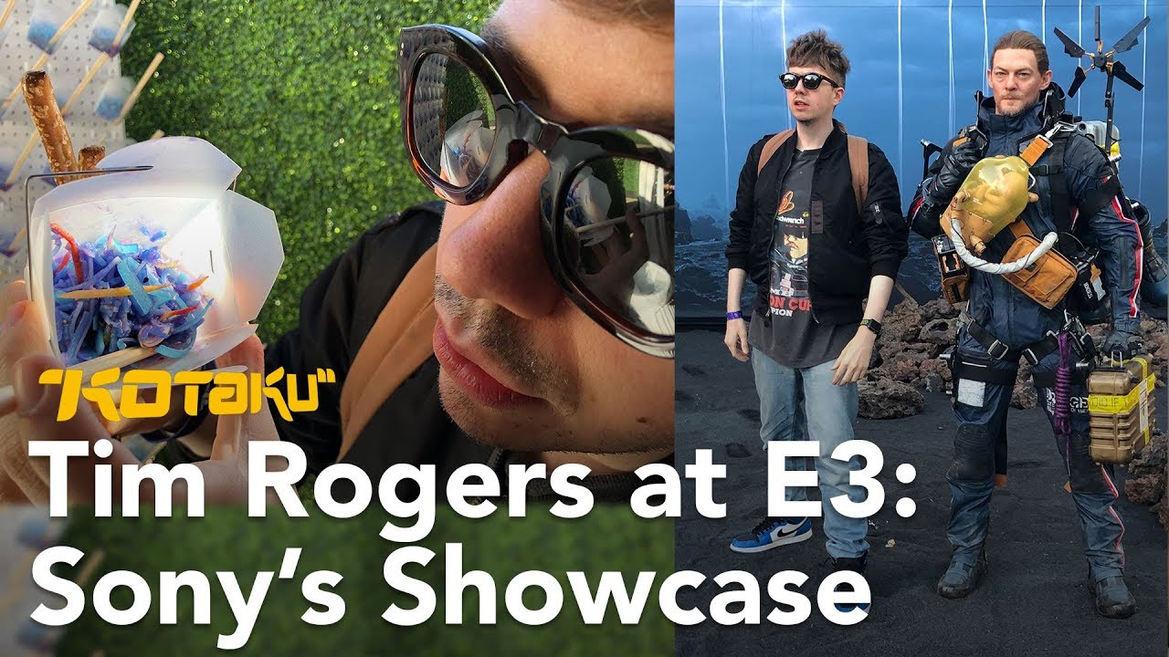 Tim Rogers at E3 2018: PlayStation Showcase