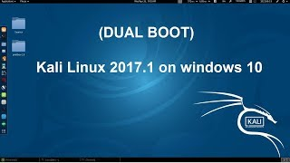 how to install kali linux 2017.1 on windows 10