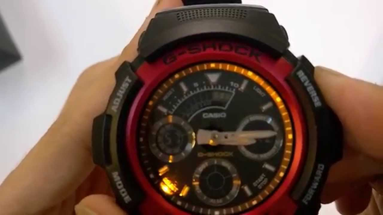 Casio g-shock (AW-591-4ADR) Unboxing - YouTube 74a332c75