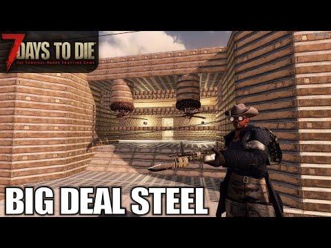 major-steel-upgrades-|-7-days-to-die-|-alpha-18-gameplay-|-e72