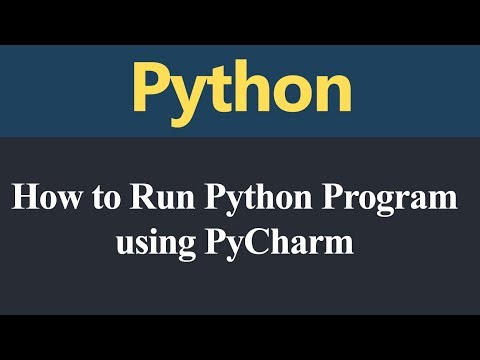 How to Run Python Program using PyCharm (Hindi) thumbnail