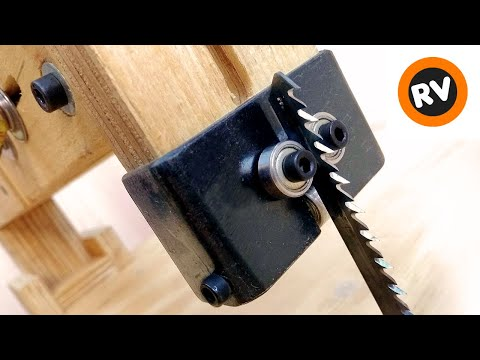 How to make a homemade table jigsaw + vertical guide - 3 in 1 multifunction table - part 4