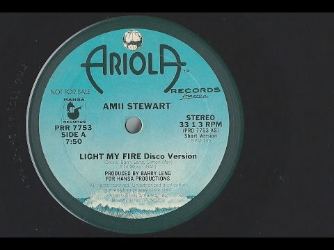 Amii Stewart - Light my fire [rare promo disco version]