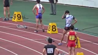 【松下祐樹選手】第35回 静岡国際陸上 男子400mH