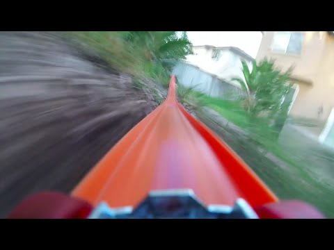 Go Pro attached to a Hot Wheels Car