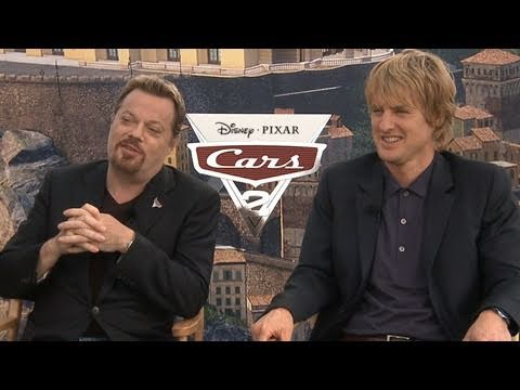 'Cars 2' Interview: Eddie Izzard and Owen Wilson
