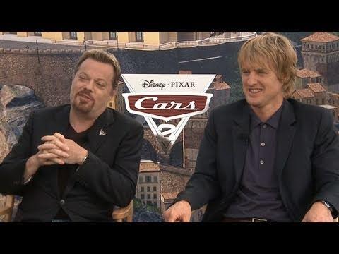 'Cars 2' Interview: Eddie Izzard and Owen Wilson