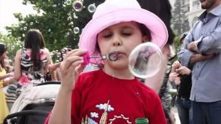 Soap Bubbles Festival 2012 | FLASHMOB Azerbaijan