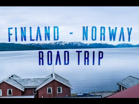 Road Trip to the northernmost point in Europe - Nordkapp Norway